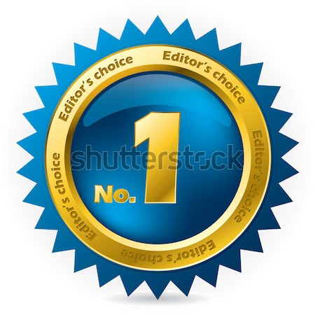 Editor's choice number one award  Stock photo © vipervxw