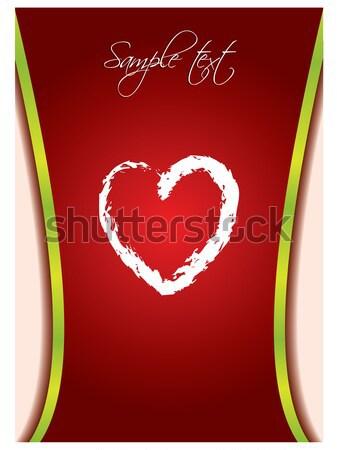 Valentine card 11  Stock photo © vipervxw
