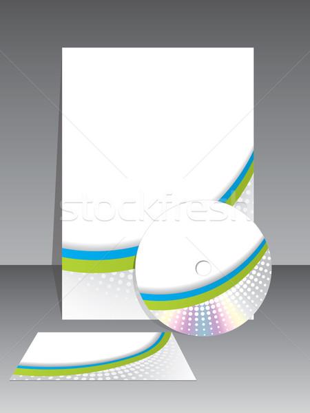Sationery business vector set Stock photo © vipervxw