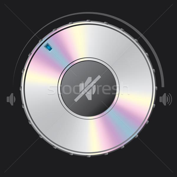 Volume dempen knop metaal Stockfoto © vipervxw