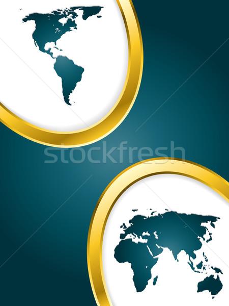 Divided world  Stock photo © vipervxw