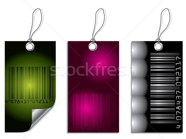 Bar-code label set Stock photo © vipervxw