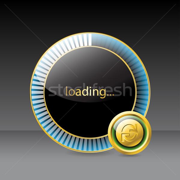 Website loading screen  Stock photo © vipervxw
