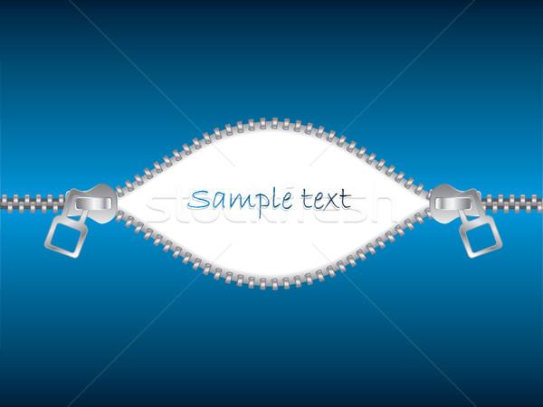Unzipped text  Stock photo © vipervxw