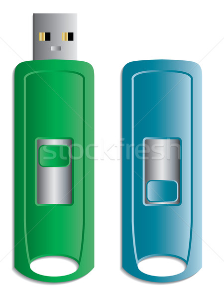 Hideable USB stick  Stock photo © vipervxw