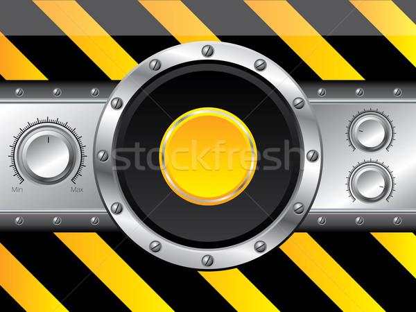Rayé volume panneau cool technologie contrôle Photo stock © vipervxw