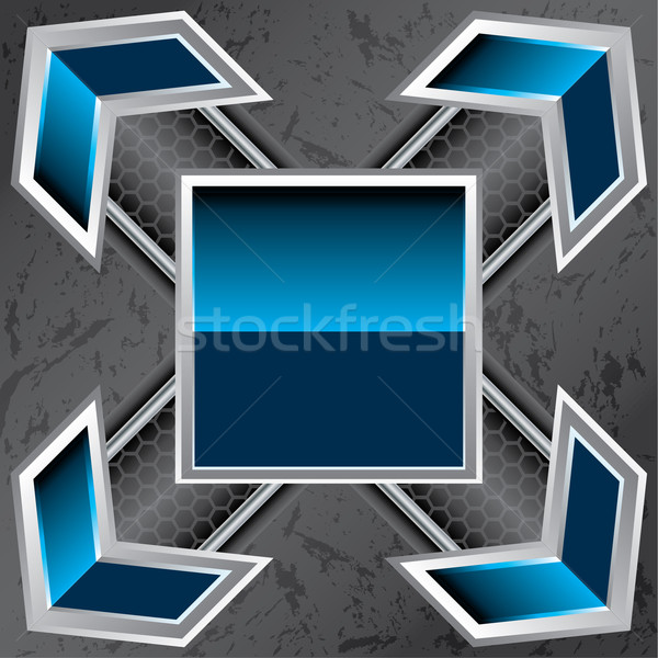 Abstract technology background design Stock photo © vipervxw