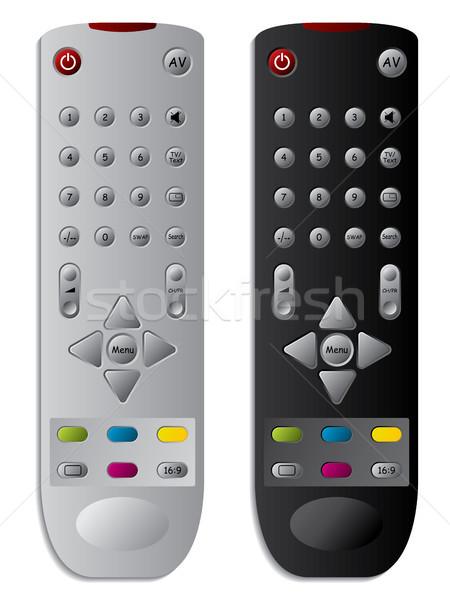 TV remote controls  Stock photo © vipervxw
