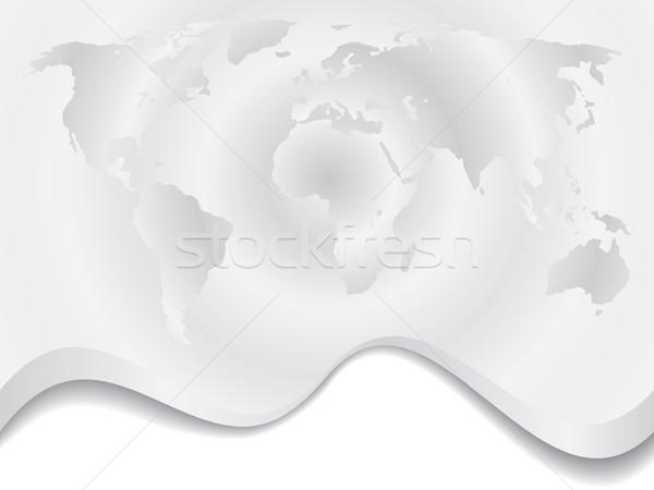 Gris ondulación mapa diseno textura mundo Foto stock © vipervxw