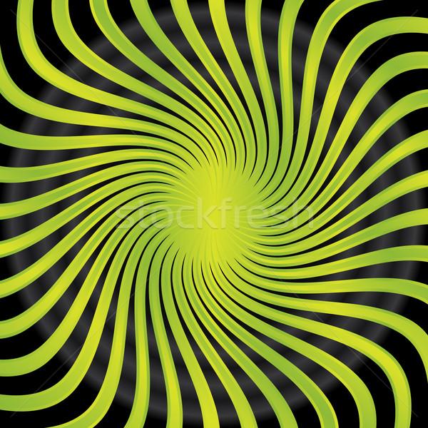 Abstract green twirl  Stock photo © vipervxw