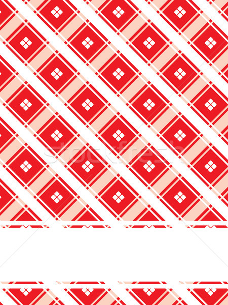 Textured red background with quad dots Stock photo © vipervxw