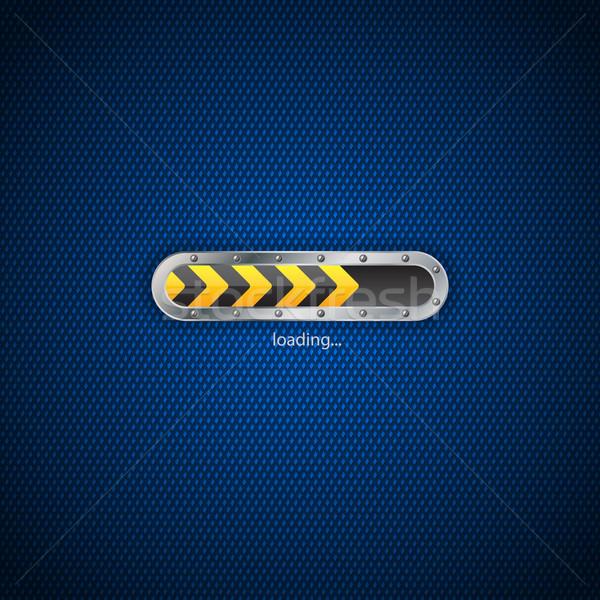 Loading status screen design Stock photo © vipervxw
