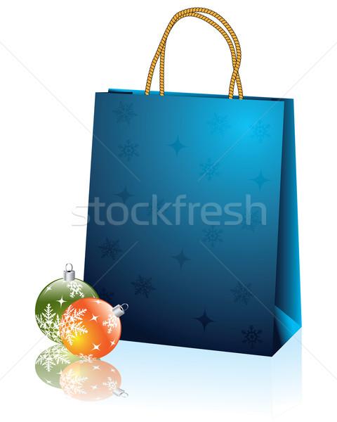 Christmas bag 2 Stock photo © vipervxw