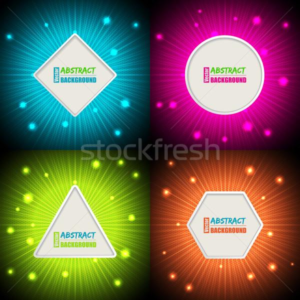 красочный фоны текста контейнера аннотация Сток-фото © vipervxw