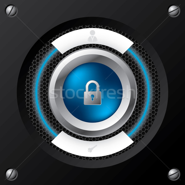 Technology login screen Stock photo © vipervxw