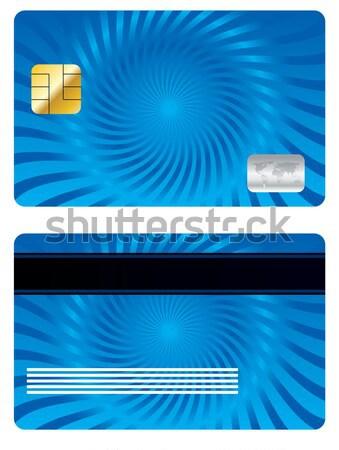Cool yellow credit card design  Stock photo © vipervxw
