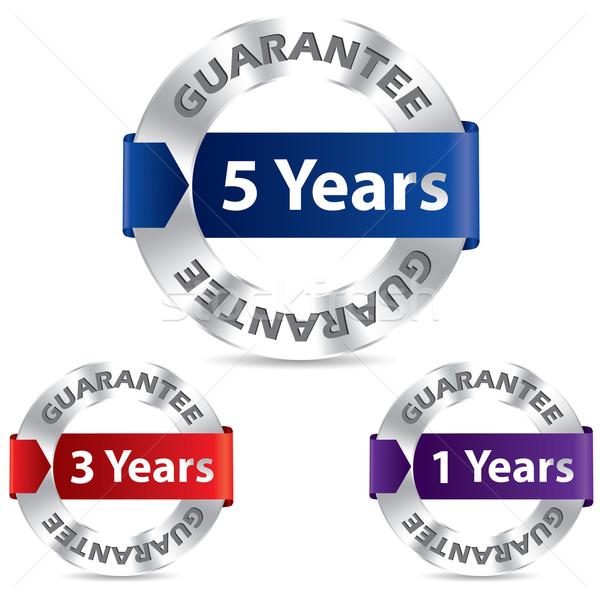 Guarantee seal designs Stock photo © vipervxw