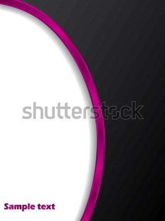 Black with pink stripe  Stock photo © vipervxw