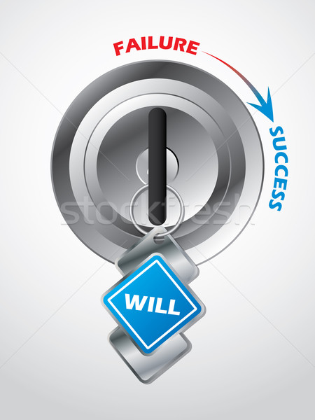 Access to success... the key is will power Stock photo © vipervxw