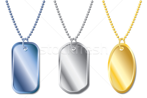 Dogtags  Stock photo © vipervxw