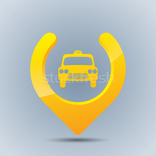 Cool taxi gps pointer Stock photo © vipervxw