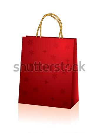 Christmas bag Stock photo © vipervxw