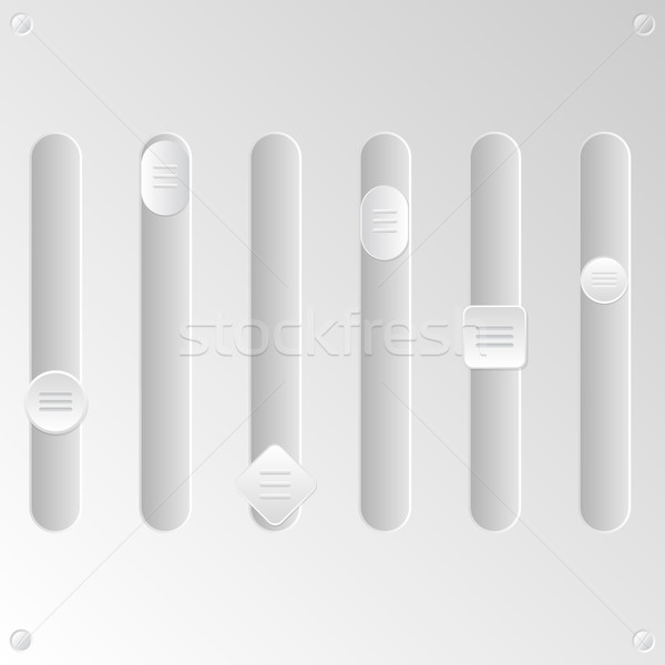 Blank equalizer set Stock photo © vipervxw