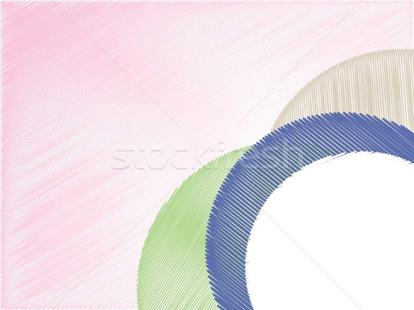 Abstract pencil scribble texture Stock photo © vipervxw