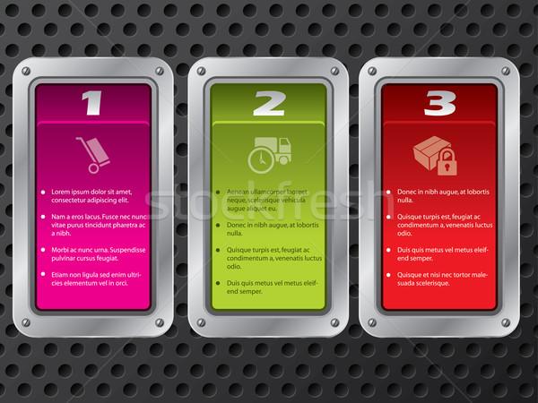 Technology infographic design Stock photo © vipervxw