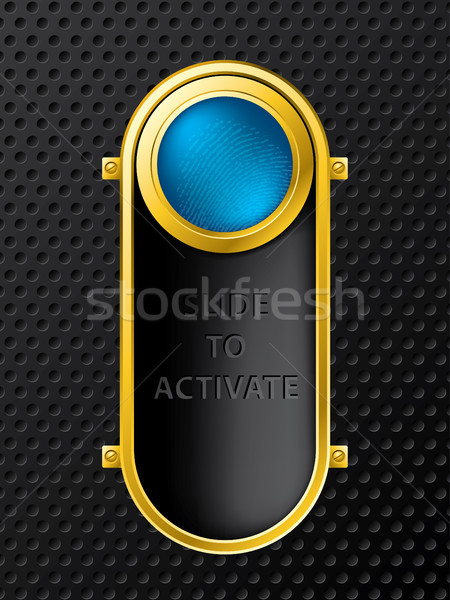 Slide to activate Stock photo © vipervxw