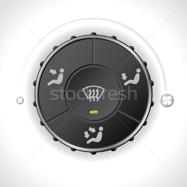 Air flow controller gauge for cars Stock photo © vipervxw