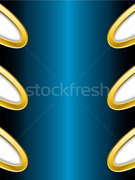 Stock photo: Abstract background with gold trimming
