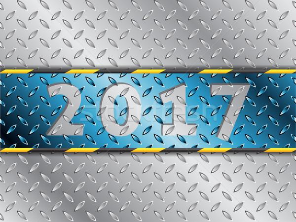 промышленных синий полоса дизайна аннотация искусства Сток-фото © vipervxw