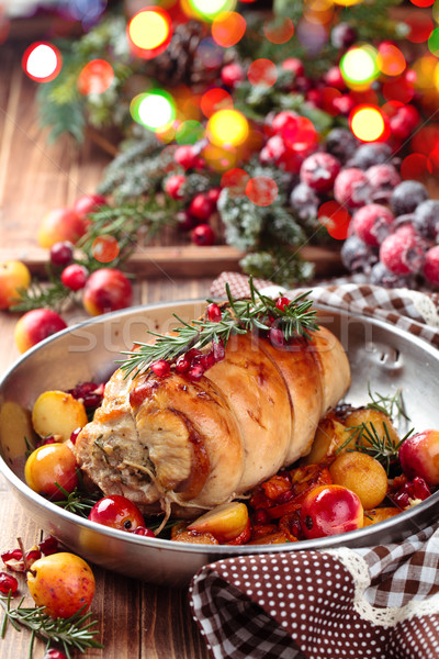 Turkey  breast for holidays.  Stock photo © Vitalina_Rybakova