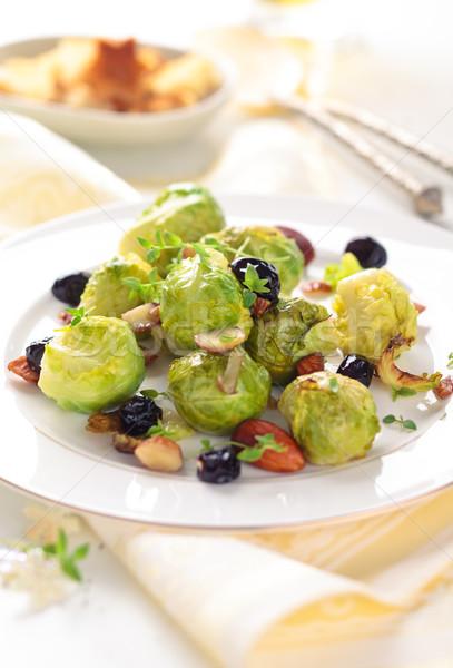 Bruxelas uvas férias comida Foto stock © Vitalina_Rybakova