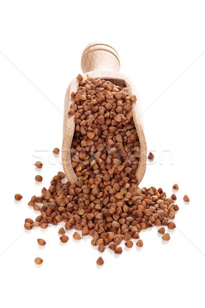 Buckwheat in scoop. Stock photo © Vitalina_Rybakova