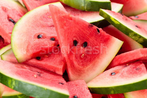 Watermeloen shot vers textuur Stockfoto © Vitalina_Rybakova