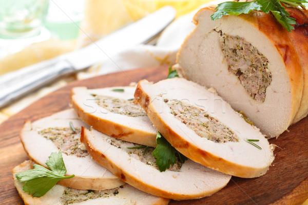 Turkey  breast.  Stock photo © Vitalina_Rybakova
