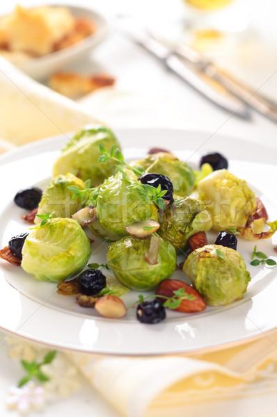 Bruselas uvas vacaciones alimentos Foto stock © Vitalina_Rybakova