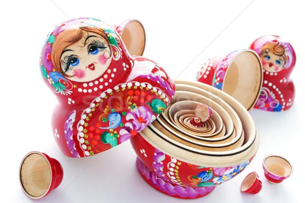Matrioshka. Stock photo © Vitalina_Rybakova