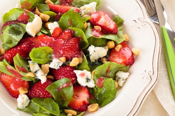 Nem leírás gyümölcs nyár asztal sajt Stock fotó © Vitalina_Rybakova
