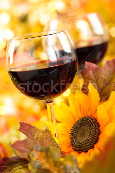 Autumn arrangement. Stock photo © Vitalina_Rybakova