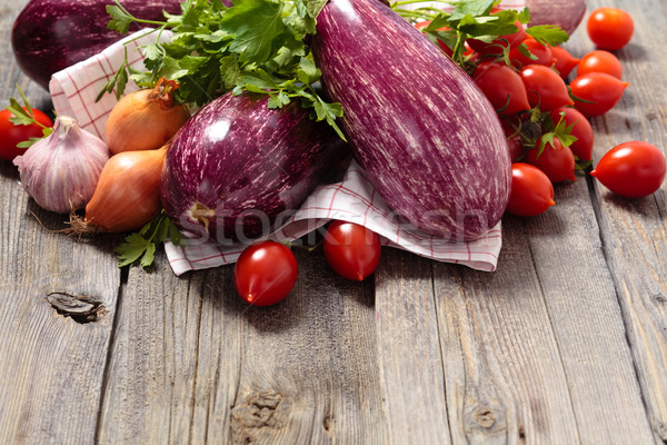 Eggplants.  Stock photo © Vitalina_Rybakova