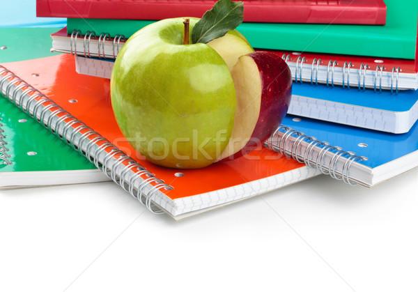学用品 緑 リンゴ フォアグラウンド オフィス 図書 ストックフォト © Vitalina_Rybakova