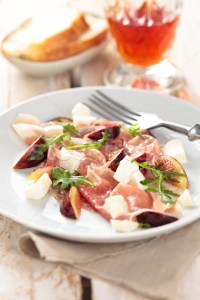 Prosciuto salad.  Stock photo © Vitalina_Rybakova