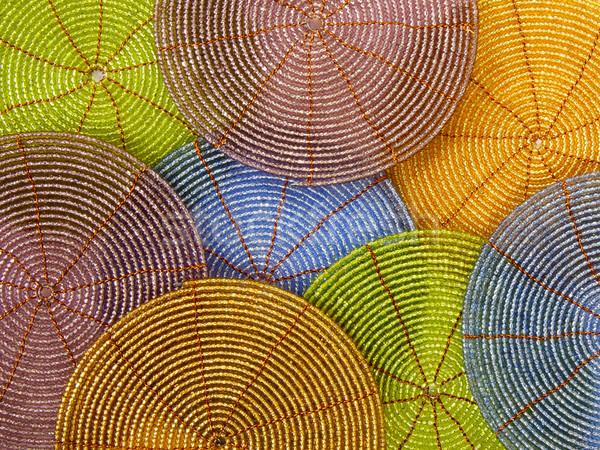ストックフォト: 明るい · 色 · 背景 · 緑 · 市場 · 線