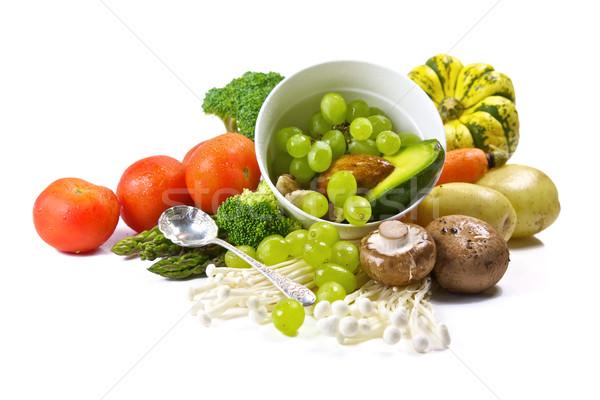 新鮮な野菜 フルーツ オーガニック 健康的な食事 野菜 ストックフォト © Vividrange