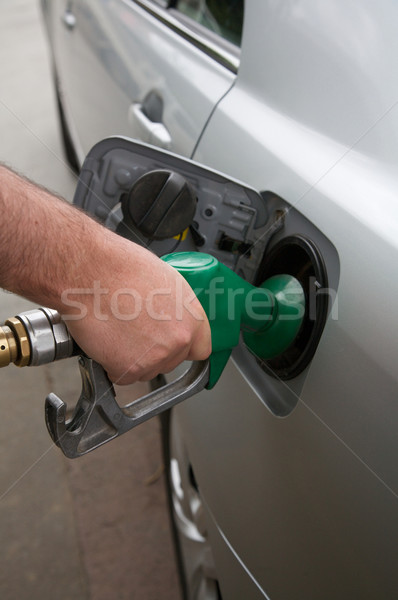 Gas or petrol, filling up a car Stock photo © Vividrange