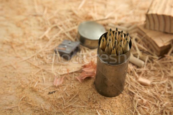 木材 作業 大工仕事 セット アップ ガレージ ストックフォト © Vividrange