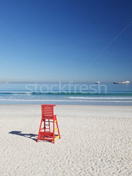 Life Saving Chair Stock photo © Vividrange